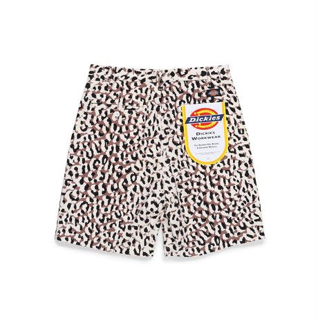 WACKO MARIA×DICKIES /pleated short trousers (type-2) (white)