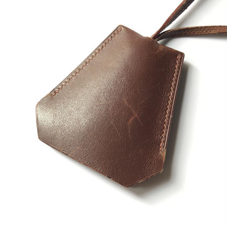 HERMES /  Leather clochette (spice)