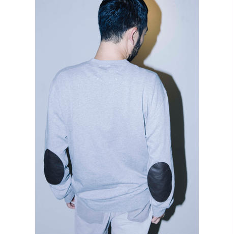 """2017 Maison Margiela ⑭  """" elbow patch sweat """""""