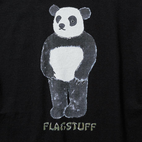 "F-LAGSTUF-F / ""PANDA""  Tee (black)"