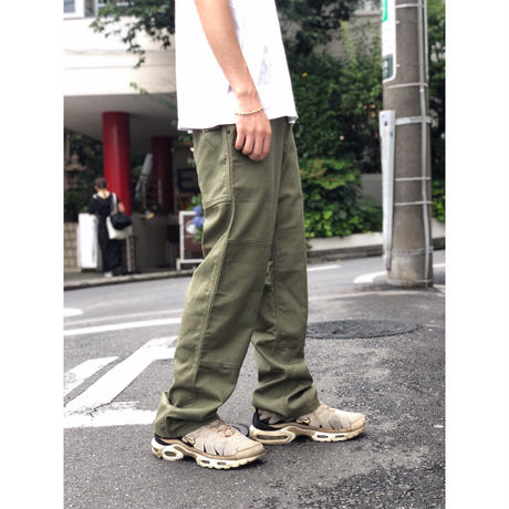 """patagonia """"Hemp Canvas Double Knee Pants"""" (fatigue green) (spice)"""