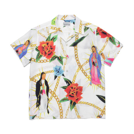WACKO MARIA /  HAWAIIAN SHIRT S/S (white)