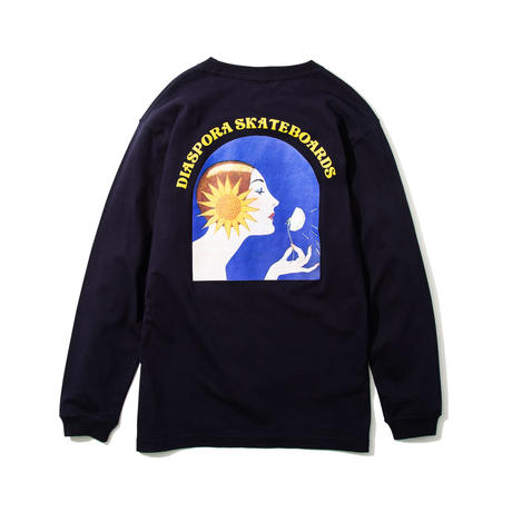 "Diaspora skateboards  / ""Royal opera L/S Tee "" (navy)"
