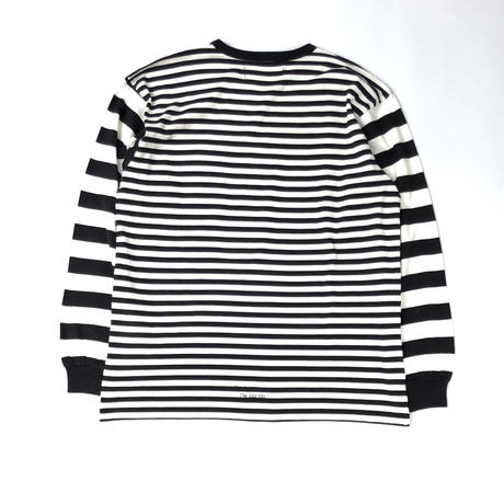 FORTY PERCENT AGAINST RIGHTS / CROWN DESIGN L/S Tee (black x white)