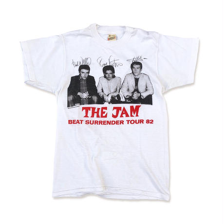 """80's THE JAM """"Beat Surrender Tour """" Tee  (spice)"""