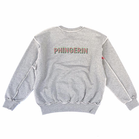 PHINGERIN / LG CREW (ヘザーグレー)