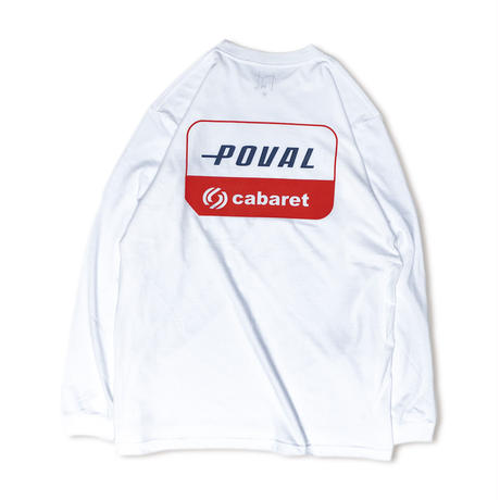 CABARET POVAL /  Sky L/S Tee(white)