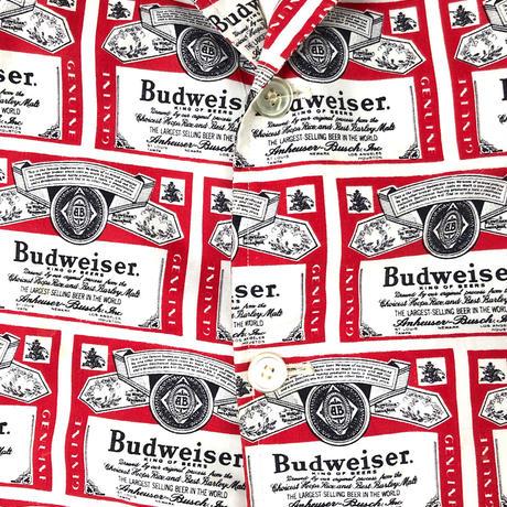 "60's Label line "" Budweiser "" Jacket (spice) #H1"
