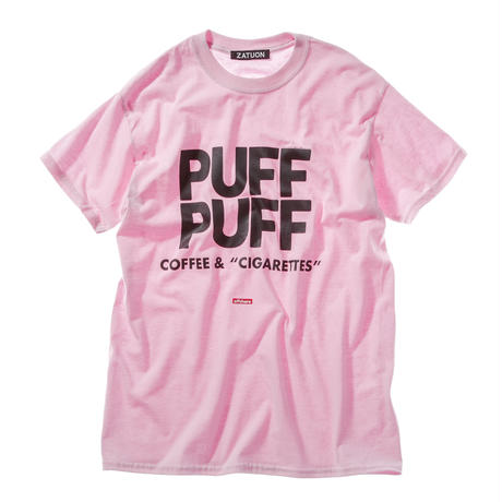 "offshore × DRAGON BALL × ZATUON / ""PUFF PUFF "" Tee (pink)"