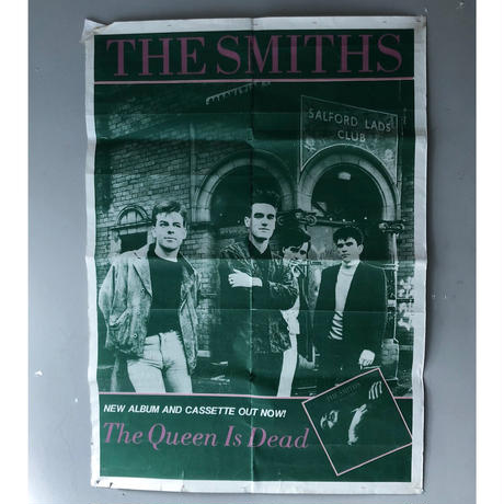 """1986 """"THE SMITHES """" poster (spice)"""