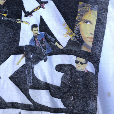 """80's INXS """"Calling All Nations Tour"""" Tee  (spice)"""