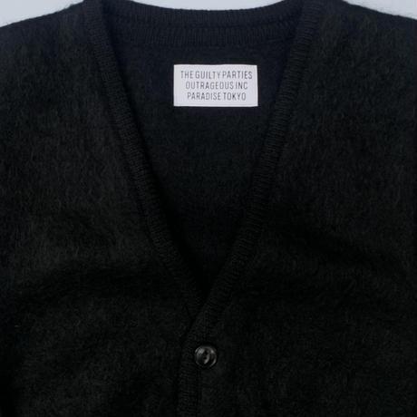WACKO MARIA   / Mohair Cardigan (black)