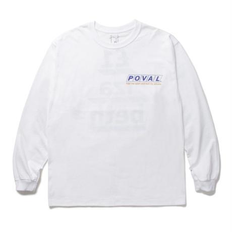 CABARET POVAL /  Elizabeth L/S tee (white)