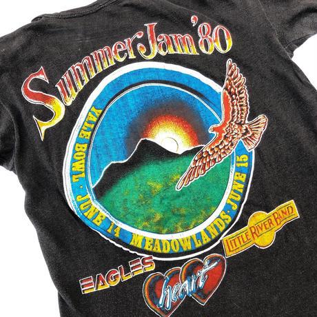 "80's ""Summer Jam""  Tee  (spice)"