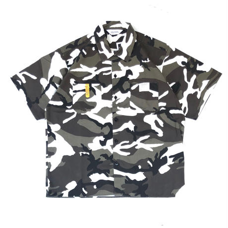 "FORTY PERCENT AGAINST RIGHTS  "" WORKER SS SHIRT"" (urban camo)"