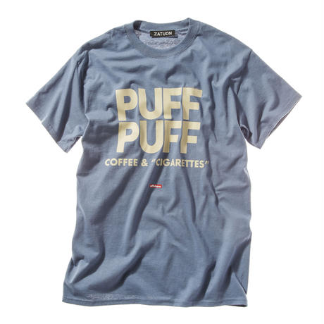 "offshore × DRAGON BALL × ZATUON / ""PUFF PUFF "" Tee (blue)"