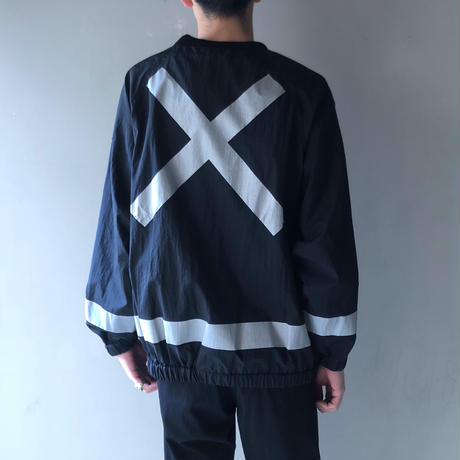 FORTY PERCENT AGAINST RIGHTS / SMOCK PULLOVER JACKET (black)