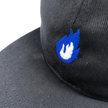 "FORTY PERCENT AGAINST RIGHTS / ""BURN"" DAD CAP (blue)"