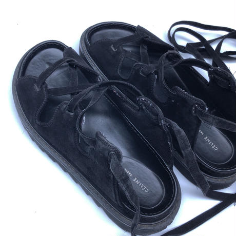 "2014 CELINE  "" Ghillie  Sandals "" (Hi brand hurugi)"