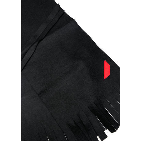 PHINGERIN / Felt Muffler (black)