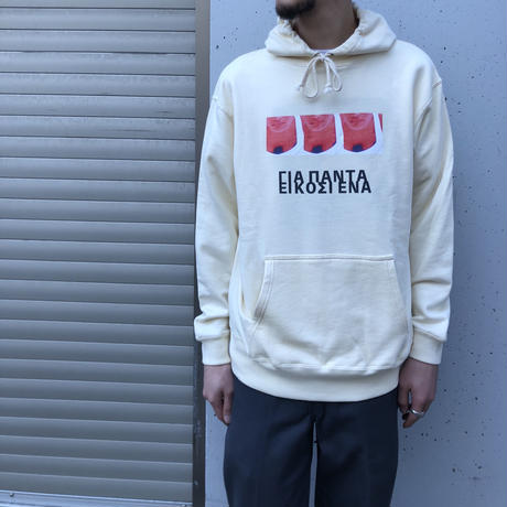 Diaspora skateboards / Twenty One Hooded Sweatshirt  (natural)