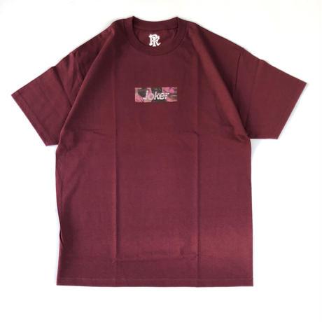 JOKER Tee  006 (burgundy )
