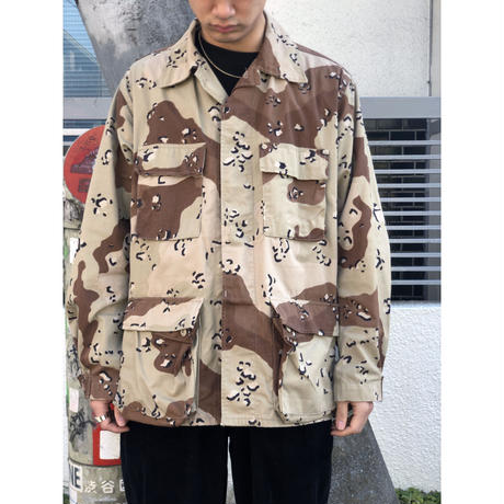 Choco-chip  camouflage jacket (spice)