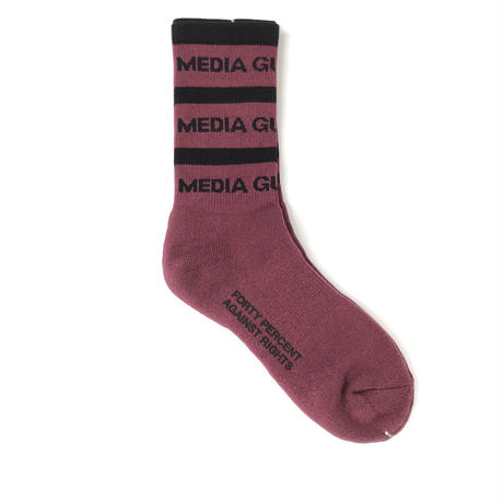 "FORTY PERCENT AGAINST RIGHTS / ""MG SOX"" (burgundy)"