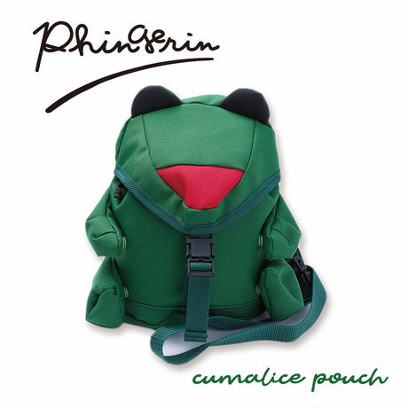 PHINGERIN / CUMALICE POUCH  FROG