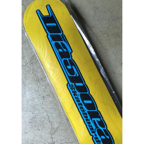 "Diaspora skateboards / GUCCIMAZE "" LOGO DECK "" (yellow)"