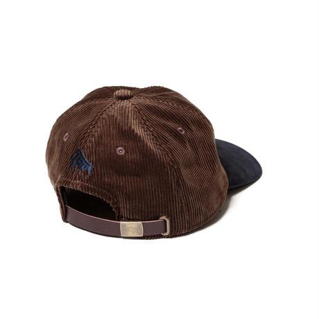 F-LAGSTUF-F / UFO CORDS 6PANEL CAP (brown)