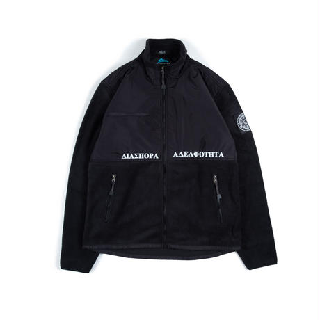"Diaspora skateboards ""frontier jacket""(black)"