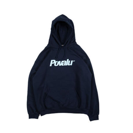 "POVAL ""povalu hooded sweatshirt"" (navy)"