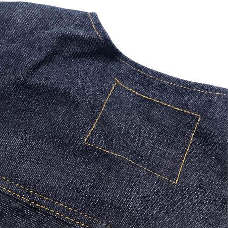 "THREE FACE /  ""csf for three face""  DENIM JACKET 1st (No Collar Ver)"