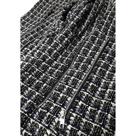 PHINGERIN /Bontage pants hi-tweed (black)