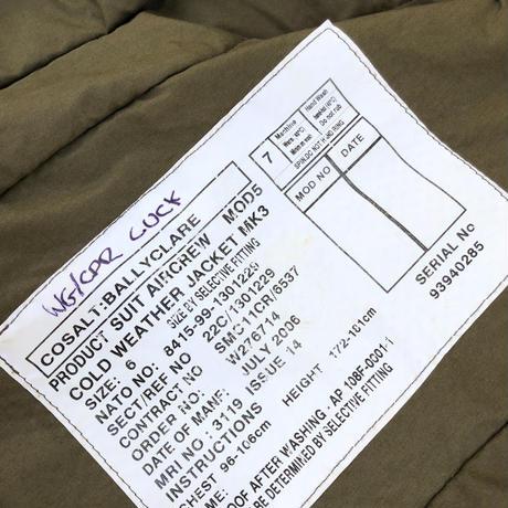 00's Royal Air Force  MK3 Flight Jacket  (spice)