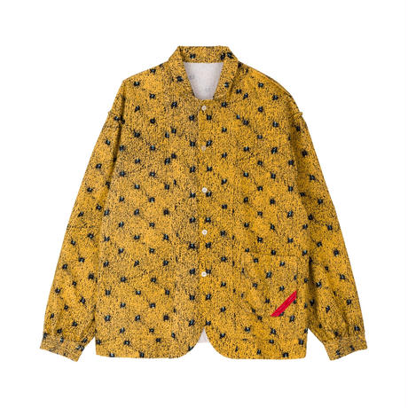 PHINGERIN / NIGHT SHIRT NEL FLOOR (yellow)