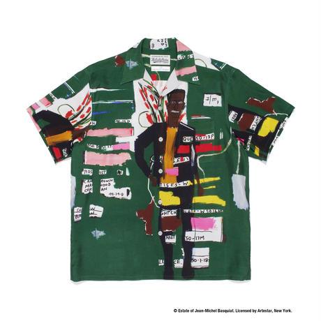 "WACKO MARIA × JEAN-MICHEL BASQUIAT /  ""Hawaiian shirt S/S  (type-2)"