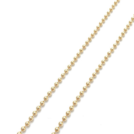 "14K GOLD NECKLACE ""Ball Chain"" (50cm)"