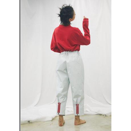 F-LAGSTUF-F × STYLIST TEPPEI/ MOCK NECK L/S Tee  (red)