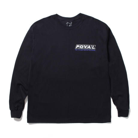 CABARET POVAL /  Elizabeth L/S tee (black)