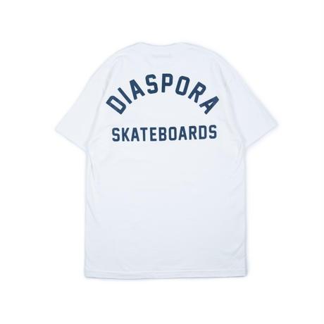 "Diaspora skateboards / Jazzy Sport "" SYMBIOSIS "" TEE (white)"