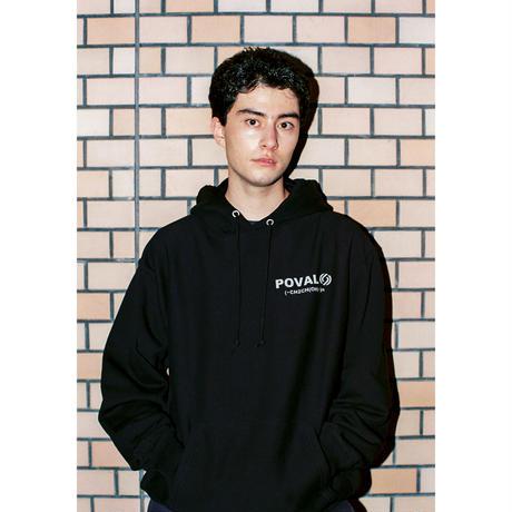Cabaret poval / Rational Hooded Sweatshirt (black)