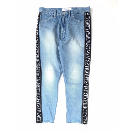 FORTY PERCENT AGAINST RIGHTS / BANNER TROUSERS