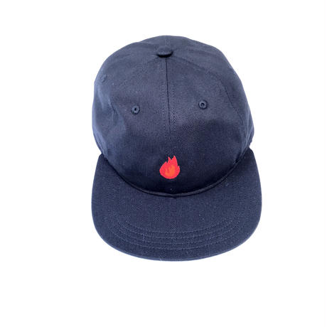 """FORTY PERCENT AGAINST RIGHTS / """"BURN"""" DAD CAP (red)"""