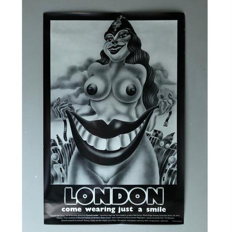 "60-70's  ""ALAN ALDRIDGE"" poster  (spice)"