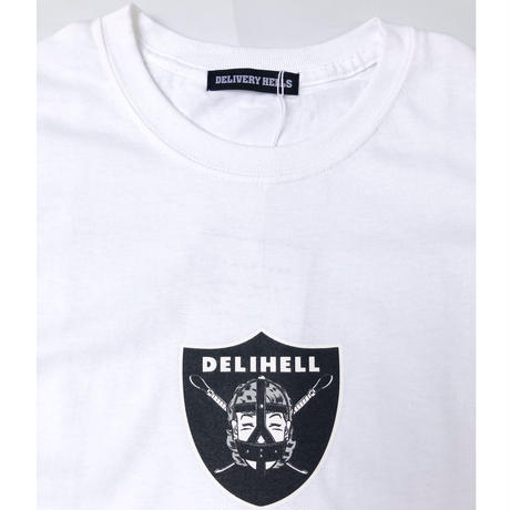 "Delivery Hells / ""Team"" Tee (white)"