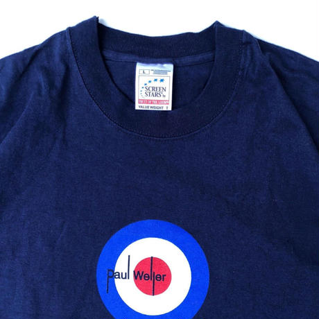 "PAUL WELLER  ""target mark tee""  (spice)"