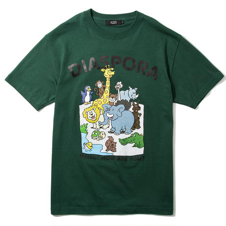 "Diaspora skateboards  / ""Greeting Tee""(white)"