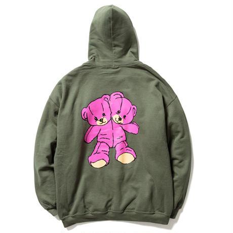 "F-LAGSTUF-F ""Hi hoodie "" (green)"
